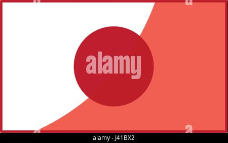 Rising Sun Flag Of Japan Banner Sign Stock Photo 86599347 Alamy