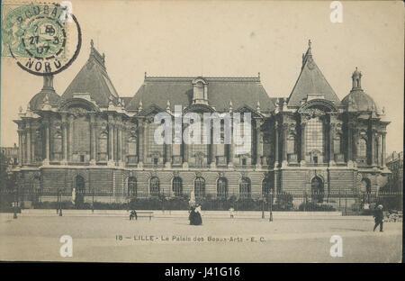 Lille   18   Le palais des Beaux Arts - Stock Photo
