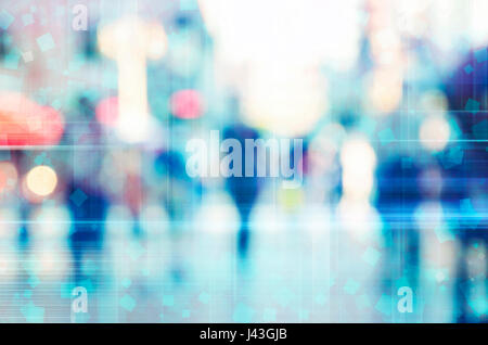 blur abstract people background - Stock Photo