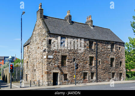 Provands Lordship, the oldest surviving house in Glasgow, Scotland, UK - Stock Photo
