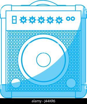 Speaker amplifier icon - Stock Photo
