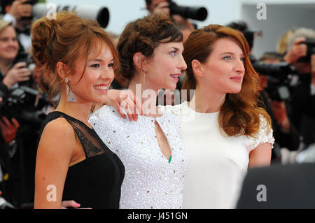 May  14th, 2014 - Cannes  Celebrities attend the 67th Cannes Film Festival - Stock Photo