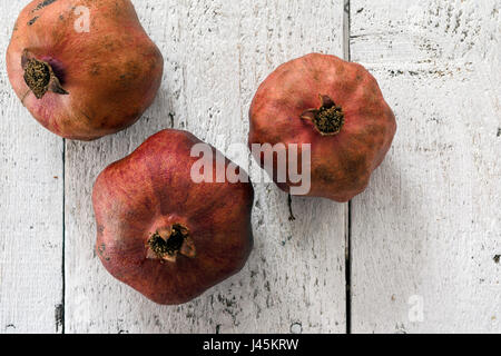 Pomegranate vintage background - Stock Photo