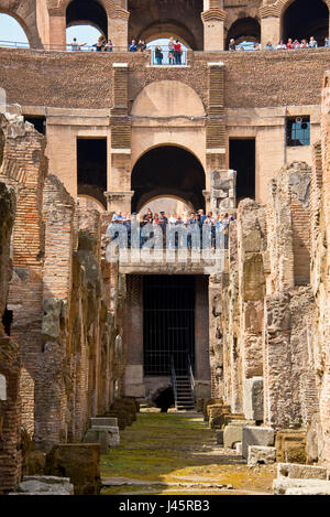 The Colosseum or Coliseum also known as the Flavian Amphitheatre or Colosseo, is an oval amphitheatre in the centre of the city of Rome. Built of conc
