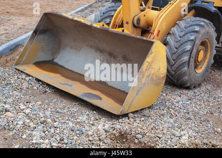 Construction and repair of the road. - Stock Photo