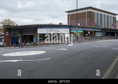 Acton Town station - Stock Photo