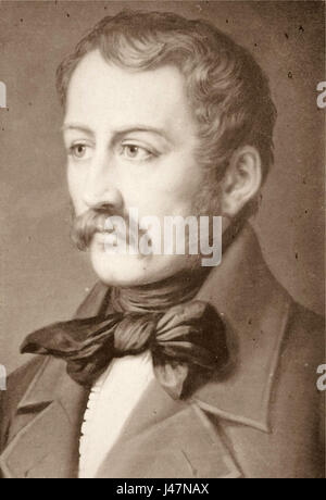 Nikolaus Lenau. - Stock Photo