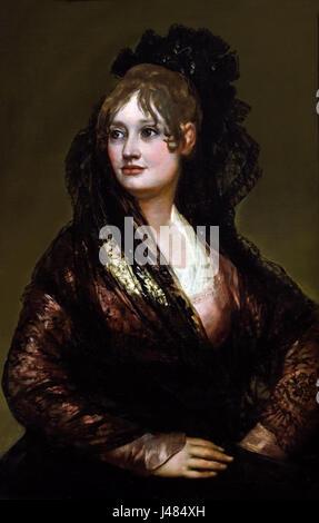 Dona Isabel de Porcel 1805 by GOYA Francisco de Lucientes 1746-1828 Spain Spanish - Stock Photo