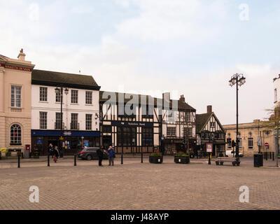 View across Market Place Ripon North Yorkshire England UK - Stock Photo