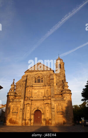 The Sacred Chapel of El Salvador in Ubeda in Andalusia Spain a UNESCO World Heritage Site - Stock Photo