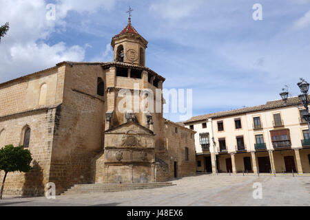 San Pablo Church in Ubeda in Andalusia Spain a UNESCO World Heritage Site - Stock Photo