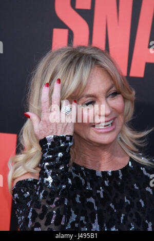 Los Angeles, USA. 10th May, 2017. Goldie Hawn 05/10/2017 The World Premiere of 'Snatched' held at the Regency Village - Stock Photo