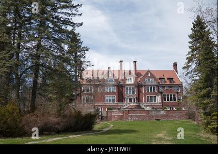 Glensheen Mansion in Duluth, Minnesota, USA. - Stock Photo