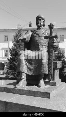 Yuri Dolgoruky in Kostroma - Stock Photo