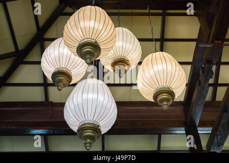 Interior Decorating Hanging Lantern Lamps, stock photo - Stock Photo