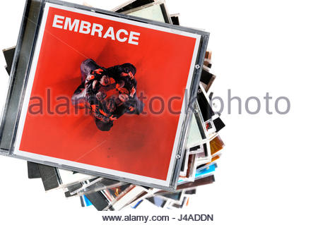 Embrace 2004 album Out of Nothing, album CD cover, Dorset, England - Stock Photo