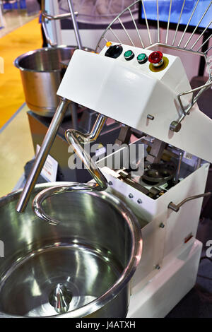 Big dough mixer electric machine - Stock Photo
