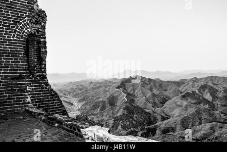 SImatai Great Wall of China - Stock Photo