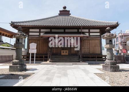 Buddhist temple in Narita, Japan - Stock Photo