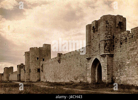 Remparts d'Aigues Mortes - Stock Photo