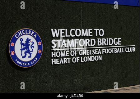 A GENERAL VIEW OF STAMFORD BRI CHELSEA V SWANSEA CITY STAMFORD BRIDGE STADIUM LONDON ENGLAND 08 August 2015 - Stock Photo