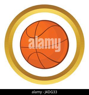 Basketball ball vector icon - Stock Photo