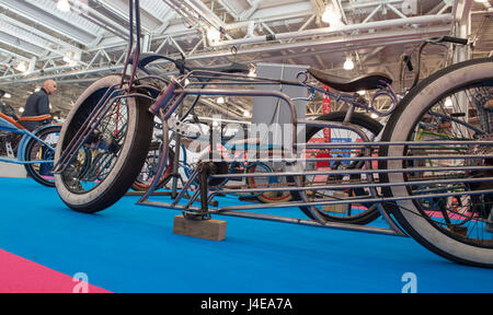 Olympia, London, UK. 12th May, 2017. Spin Cycling Festival, the road and urban cycle show, opens at Olympia with - Stock Photo