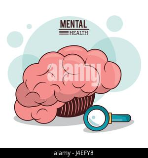 mental health. human brain search innovation discovery image - Stock Photo