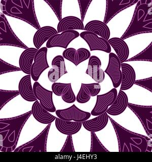 mandala pattern. vintage elements in oriental style. texture for wallpaper vector illustration. - Stock Photo
