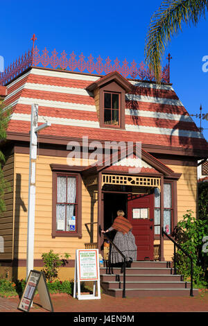 Whaley House Museum, Old Town, San Diego, California, United States of America, North America - Stock Photo