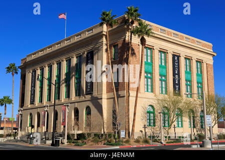 The Mob Museum, Downtown District, Las Vegas, Nevada, United States of America, North America - Stock Photo