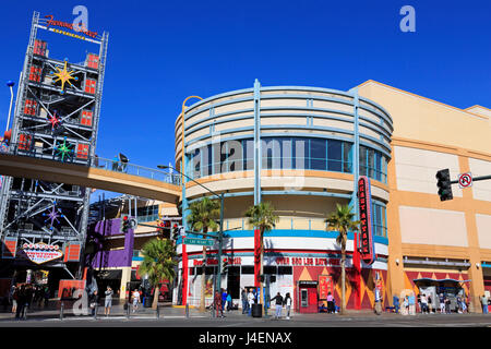 Fremont Street, Las Vegas, Nevada, United States of America, North America - Stock Photo