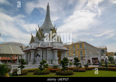 City Pillar Shrine, Bangkok, Thailand, Southeast Asia, Asia - Stock Photo