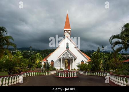 Tahiti, Society Islands, French Polynesia, Pacific - Stock Photo