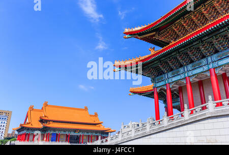National Theater and Concert Hall at Liberty Square in Taiwan - Stock Photo