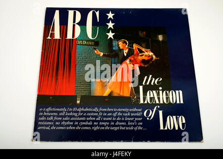 ABC The Lexicon Of Love LP record - Stock Photo