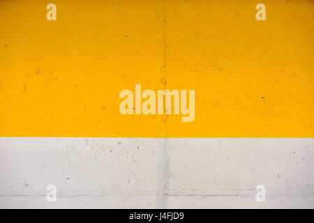 Yellow and grey painted wall