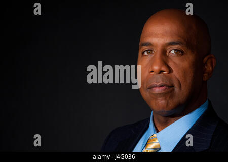 Portrait of an African American businessman. - Stock Photo