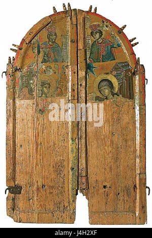 ... Royal Doors from Saint Nicholas Church in Shopsko Rudare 1580 1581 - Stock Photo : royal doors - pezcame.com
