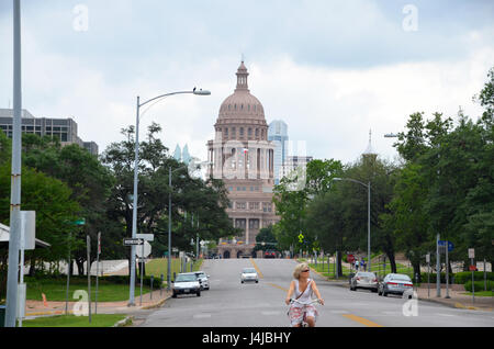 texas state capitol austin texas - Stock Photo