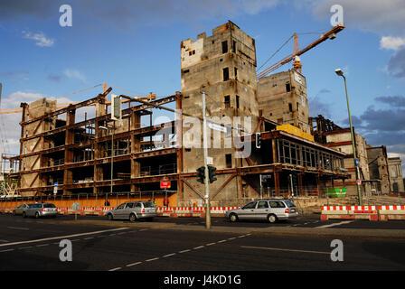berlin, building, buildings, central, cladding, claddings, constructionPalast der Republik Mitte Palace of the Republic - Stock Photo