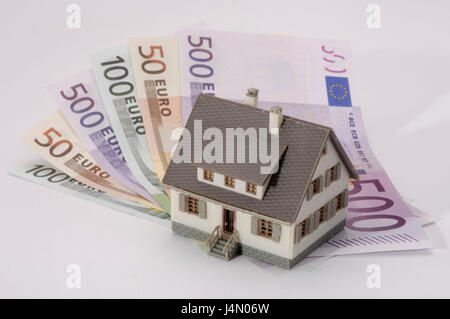 Icon, building of a house, expenses, financing, advance, house ...