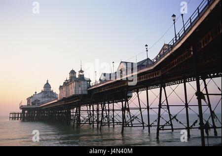 Great Britain, England, Sussex, Eastbourne, pier, - Stock Photo