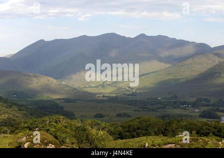 Ireland, Munster, county Kerry, Killarney national park, - Stock Photo