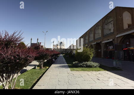 Naqsh-e Jahan, Imam Square in Isfahan, Iran - Stock Photo