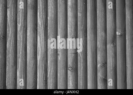 Fragment of lining wall by wood, detailed structure - Stock Photo