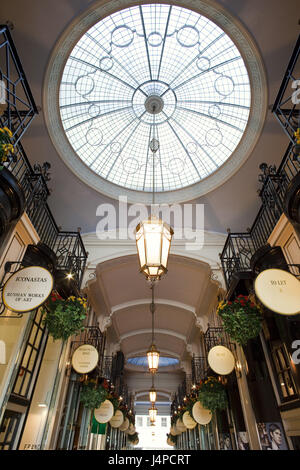Great Britain, England, London, Piccadilly, Piccadilly Arcade, detail, - Stock Photo