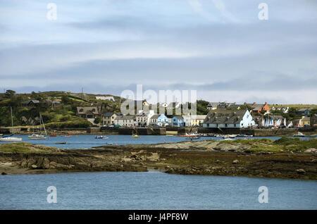Ireland, Munster, Cork county, Mizen Head, Crookhaven, harbour, - Stock Photo