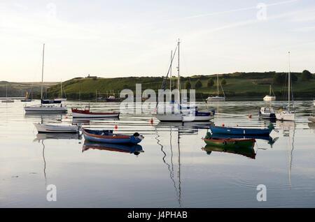Ireland, Munster, Cork county, Kinsale, harbour, - Stock Photo