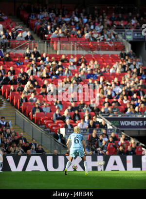 London, UK. May 13th 2017, Wembley Stadium, London, England; The SSE Womens FA Cup Final, Manchester City versus - Stock Photo